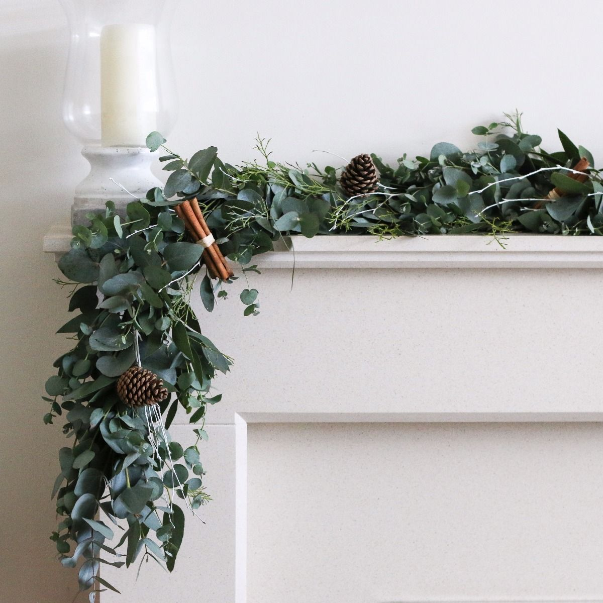 eucalyptus garland - why buy flowers at christmas