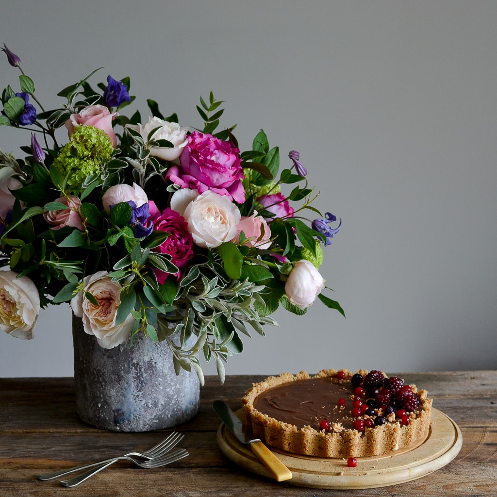 Mother's Day Chocolate Torte