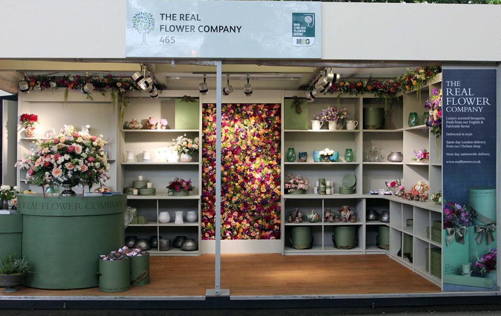 the real flower company chelsea flower show