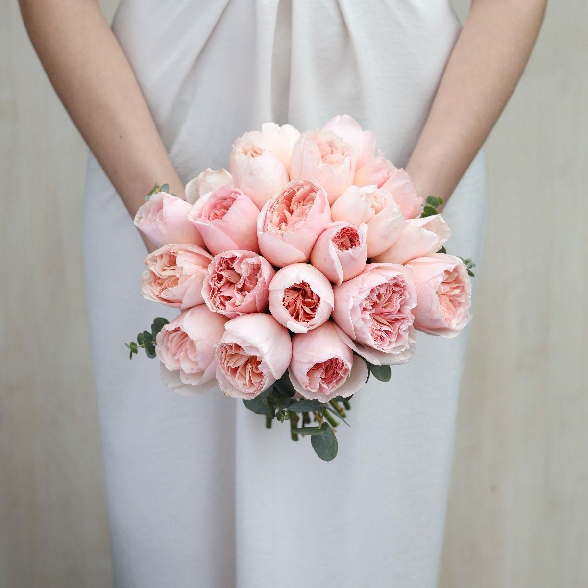bell romantic bridal bouquet