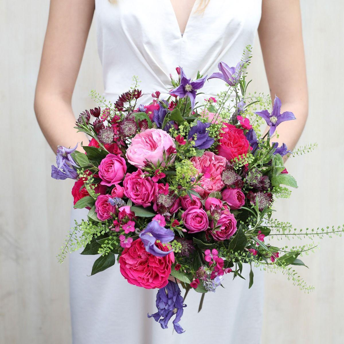 david austin jewel bridal bouquet